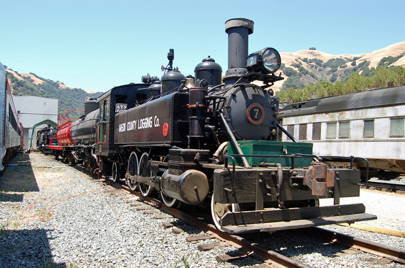 Tank Engines at Niles Canyon