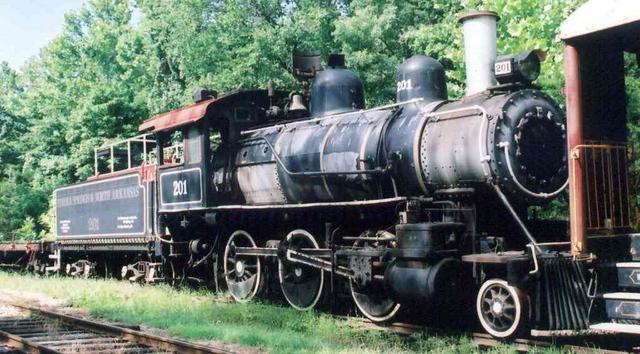 The ES&NA RR Steam Locomotive #201, Locomotive #201 was