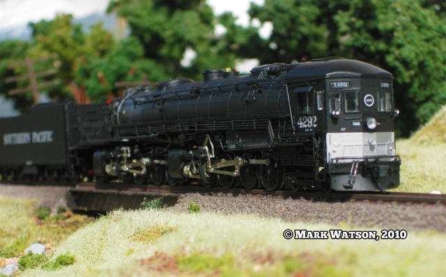 The InterMountain AC-12 is the most beautifully detailed N Scale steamer yet!!