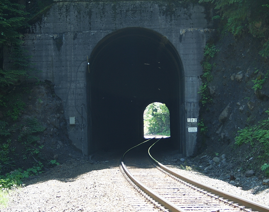 Tunnel #12 on Espee's Cascade line