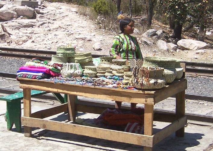 Typical local handicrafts