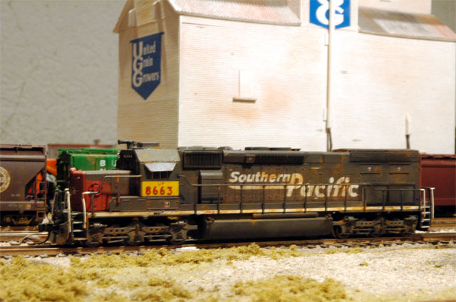 UP patched SP SD40T-2 # 8663