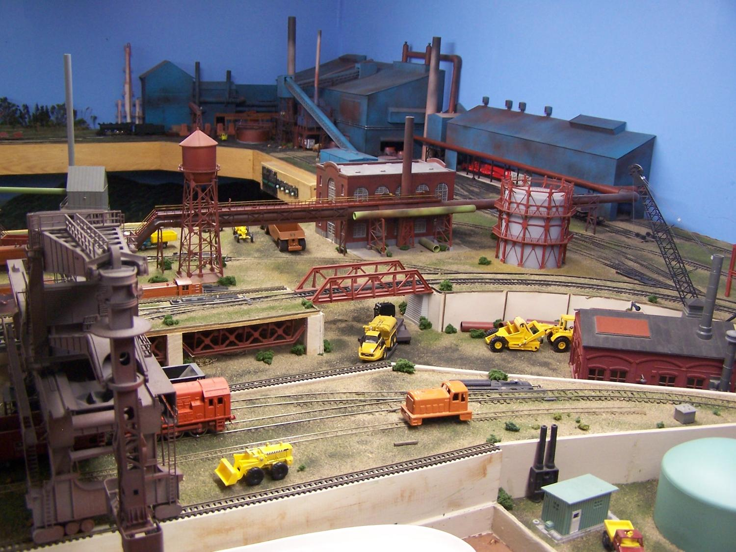 View of Boiler house highline and Hullet Unloader