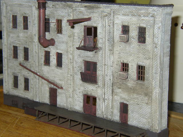 Walthers warehouse conversion