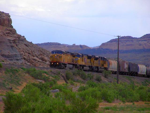 West Bound UP Mixed Freight