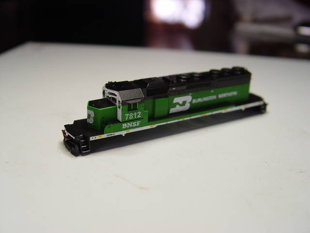 Z SD40-2 Repaints and Detailing