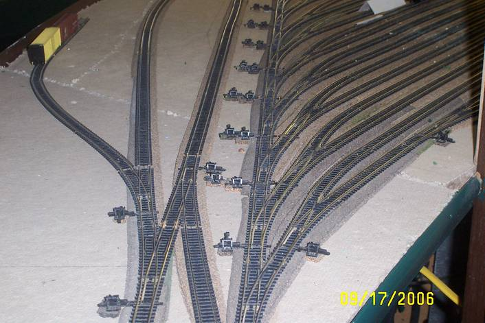 Yard Plan For N Scale Trainboard Com The Internet S