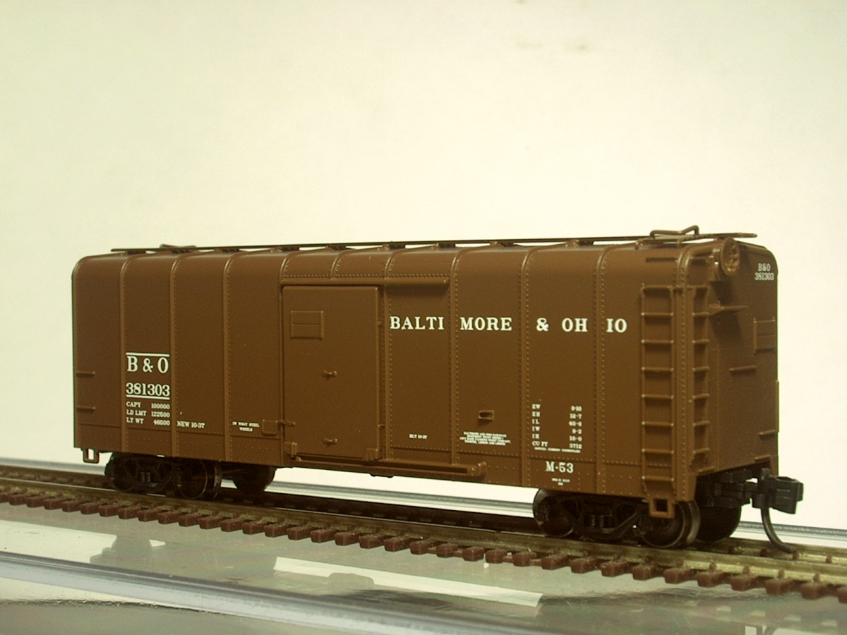 Atlas Model Railroad Co. - Finally, some B&O goodness in RTR form.