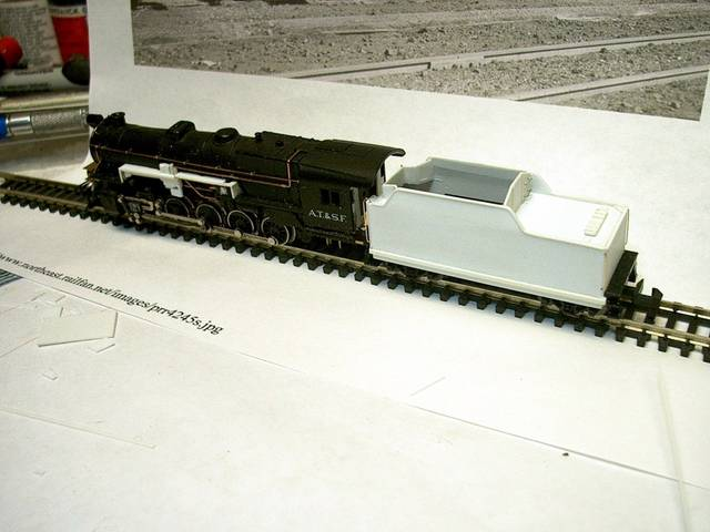 A quick PRR I-1 project: Trix 2-10-0 remotor and improvements
