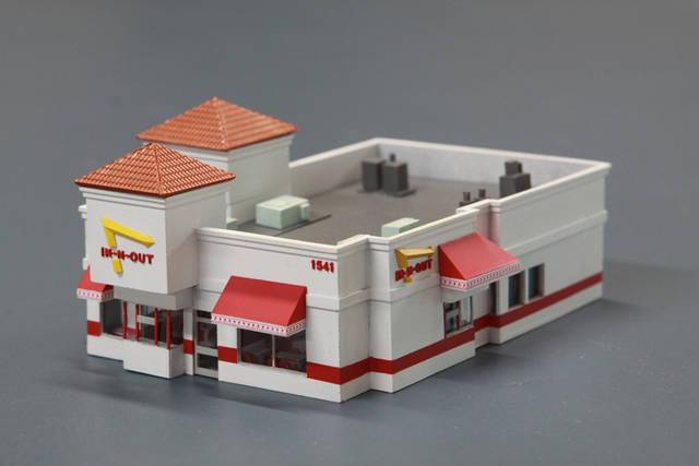 Ho Scale Fast Food Buildings