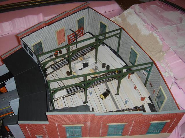 Roundhouse Interior Colors Model Railroader Magazine Model Railroading Model Trains
