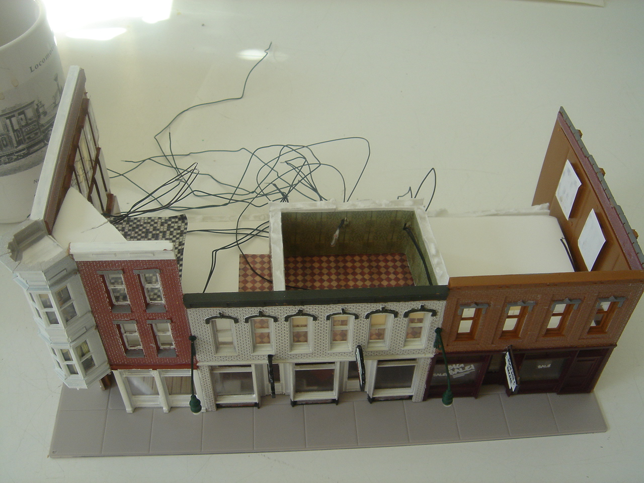 Putting Lighting In Structure Model Railroader Magazine Railroad Dcc Wiring How To Build A Train Layouts G Z S I