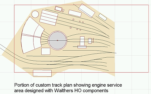 Transition era engine service area - Model Railroader ... on railroad depot house plans, draw my own house plans, railroad section house plans, railroad car house plans, railroad steam engine side rods,