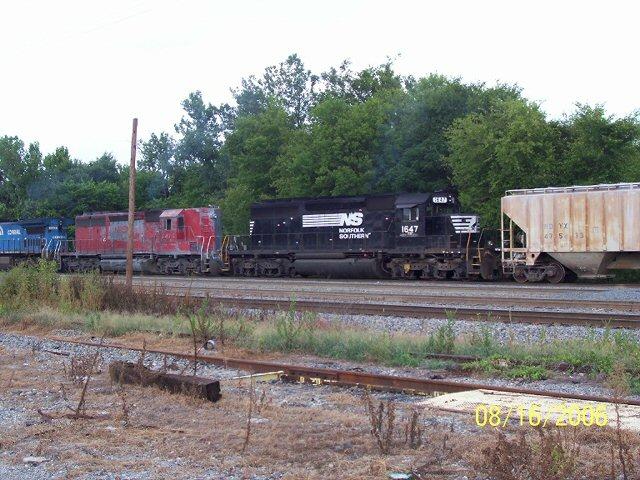 Macon tracks in Georgia