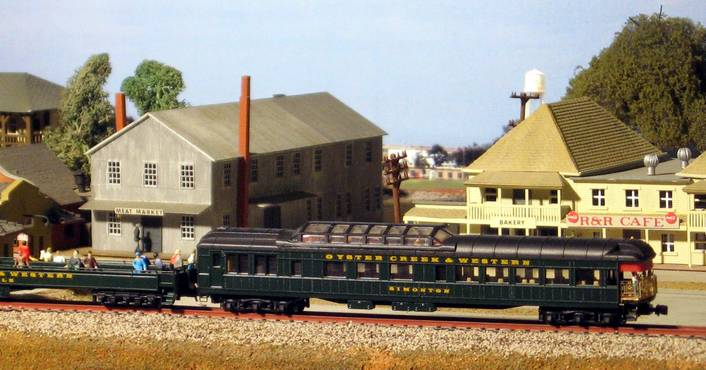 How popular is it to create a fictitious railroad to model